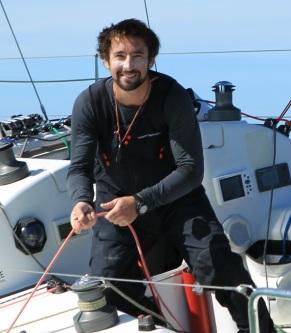 Julien Pulvé Navigateur Team Vendée 2017 ET 2019 portrait