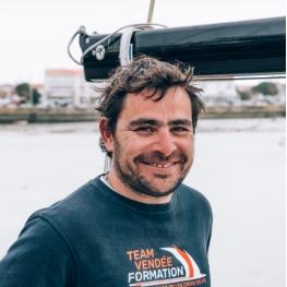 Guillaume Avrilla - Technicien course au large en formation