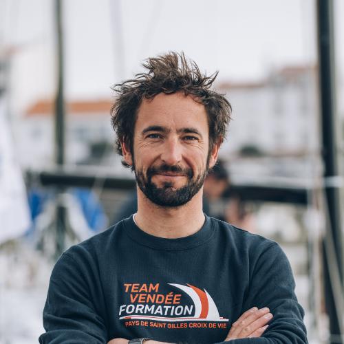Julien Pulvé - Navigateur Figaro Bénéteau 3, cadre
